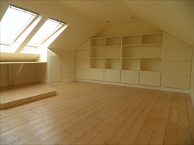 Built In Units/Shelving in Attic Conversion in Killiney, South County Dublin, by Expert Attics,Ireland