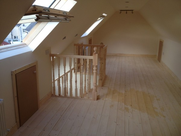 Open Plan Attic Dublin By Expert Attics Ireland