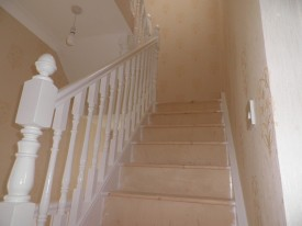 Half Landing Staircase in Attic Conversion in Killiney, South County Dublin, by Expert Attics,Ireland