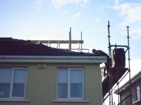 Existing hip opened, County Dublin by Expert Attics, Lucan, Ireland.